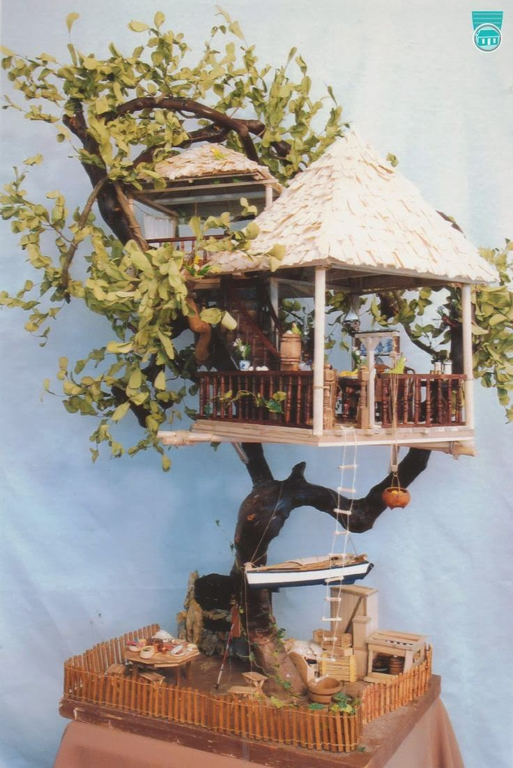 Miniature Tree House 675 best living in the trees images on pinterest | treehouses