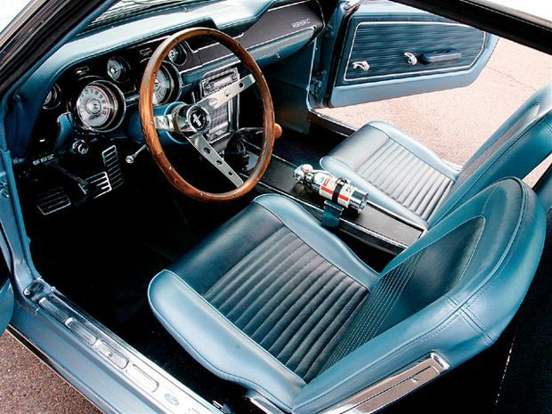 View Mufp 0710 09 Z+1967 Ford Mustang Fastback+interior - Photo 9426571 from 1967 Ford Mustang Fastback - By Himself For Himself