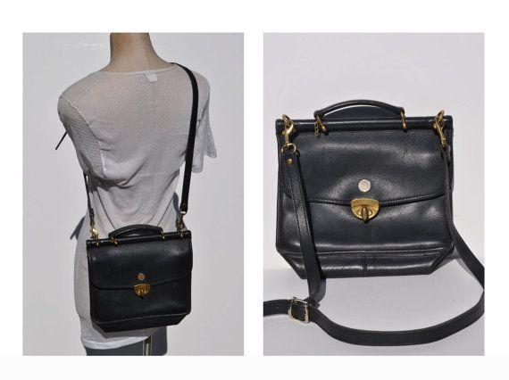 Vintage Leather Purse Cross Body Bag Jack Georges Coach Les Bags Pinterest Purses And
