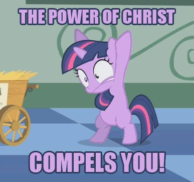 My Little Pony Funny | Oooo, the powerr - my-little-pony-friendship-is-magic Photo