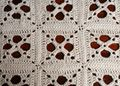 Make a Bedspread With the Criss Cross Thread Crochet Granny Square Pattern