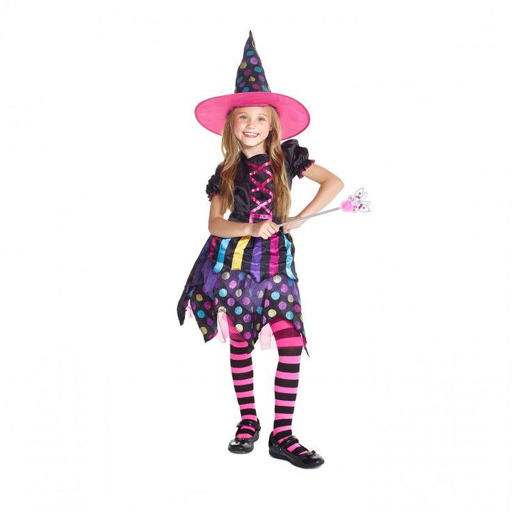 Heks Kostuum voor Meisjes