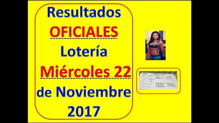 Resultados Sorteo Miercoles 22 de Noviembre 2017 Loteria Nacional Panama : Loteria 22 Noviembre 2017