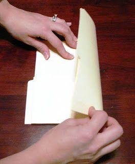 CELEBRATING ORDINARY MOMENTS: Manila Folder Mini Album Tutorial w/Instructions
