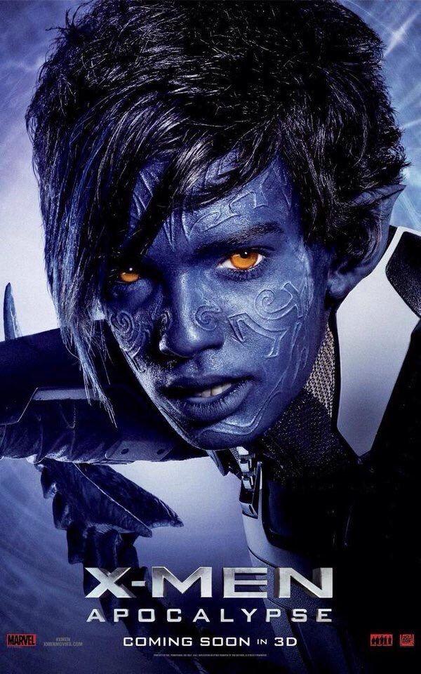X-Men Apocalypse: Kodi Smit-McPhee as Kurt Wagner (Nightcrawler)