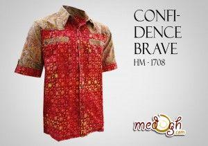Kemeja Batik Pria Terlaris di Medogh..kamu juga bisa memilikinya :)