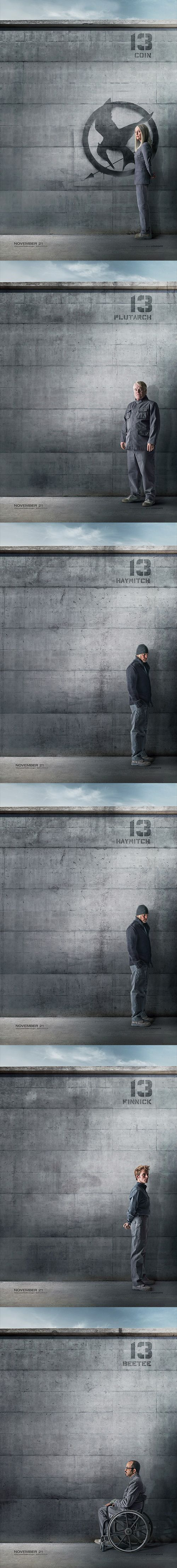 The new Hunger Games posters are here! #Mockingjay