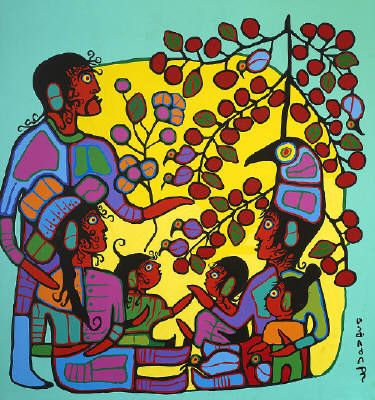 Google Image Result for http://eartfair.com/blog/wp-content/uploads/2008/11/norval_morrisseau_artist_norval_with_family_passing_on_legends_731_80.jpg