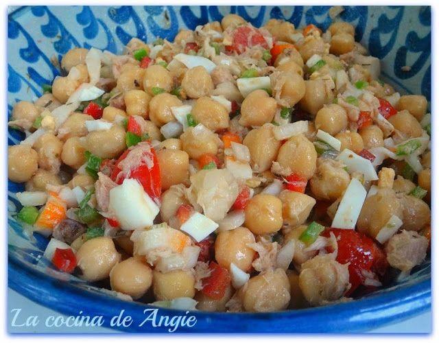 La cocina de Angie: ENSALADA DE GARBANZOS