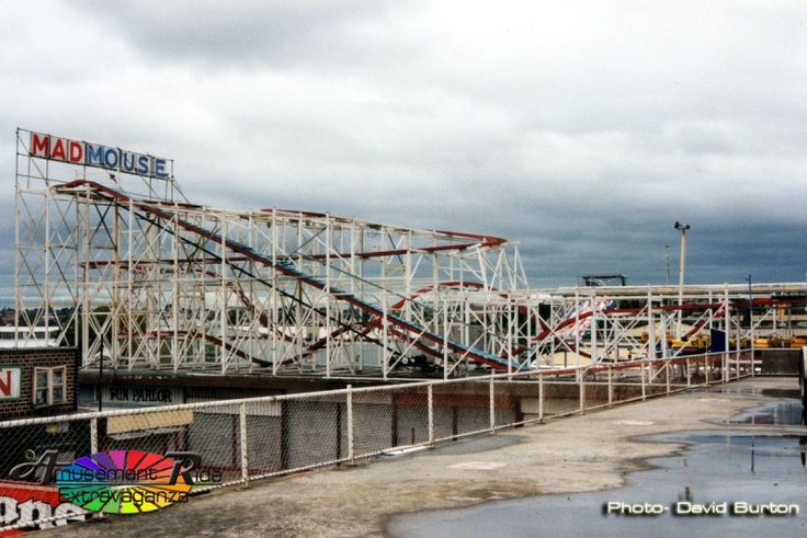 Ex-Wittingslow's Mad Mouse. Melbourne Showgrounds 1997. - Amusement Ride Extravaganza