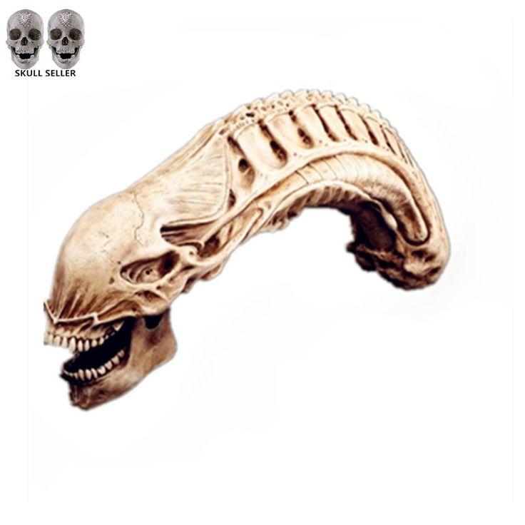 Aliexpress.com : Buy P Flame 2016 Hot Huge Resin Fossil Statue  AVP Predator VS Alien Skull Skeleton Figure Size 20*50cm Simulation Model Collection from Reliable toy stethoscope suppliers on handiworkshop