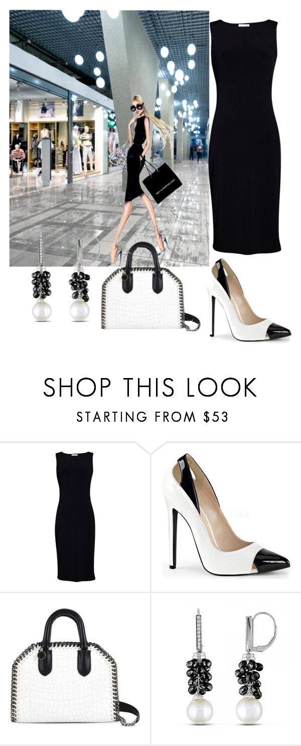 Untitled #3741 by janicemckay on Polyvore featuring Velvet by Graham & Spencer, Pleaser, STELLA McCARTNEY and Allurez