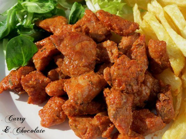 #Picadillo de #cerdo al estilo Benedicta - #Spanish marinated #spicy #pork