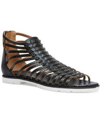 Calvin Klein Women's Maze Strappy Flat Gladiator Sandals