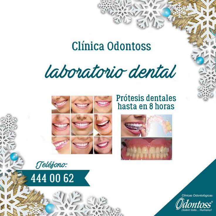 Tenemos laboratorio dental en cada una de nuestras sedes, lo que facilita entregar tus prótesis dentales en muy poco tiempo. Llámanos 444 00 62.