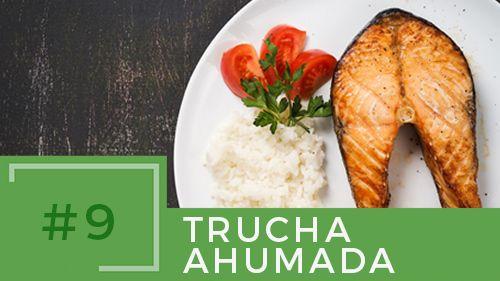 #recetas sanas #tips #cocinar sano #trucha ahumada #dieta sana