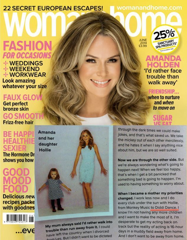 Amanda Holden brings her daughter to diddi dance, why don't you bring your child! Don't forget to get your FREE trial today! Contact your local diddi dance to book yours - http://www.diddidance.com/contact/
