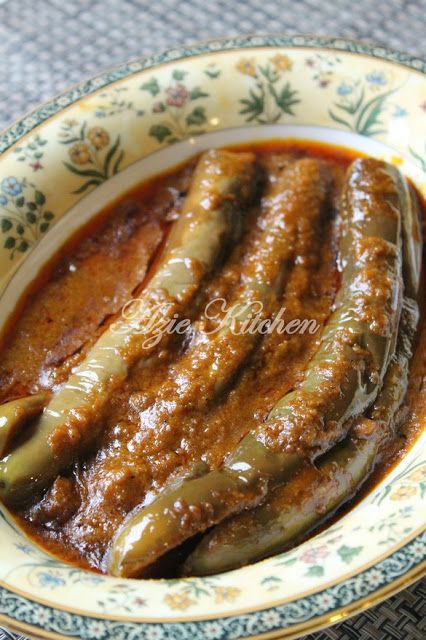 Azie Kitchen: Pajeri Terung Wan Chu Yang Mudah dan Paling Sedap