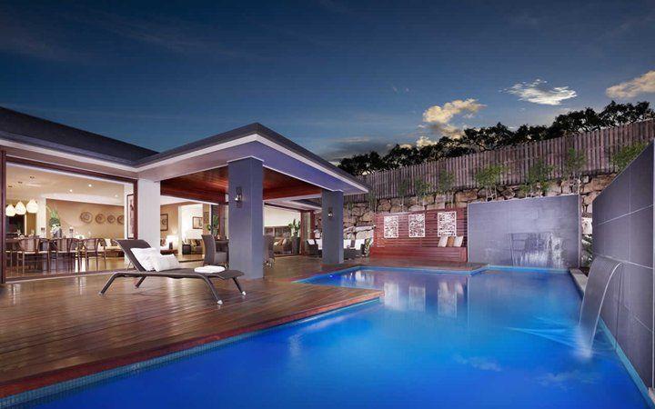 pool area, metricon homes