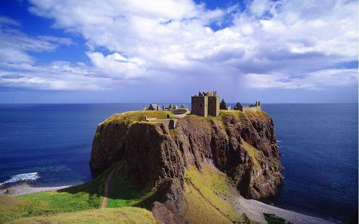 Skót kastélyok ♥ Dunnottar Castle Stonehaven közelében Aberdeenshire
