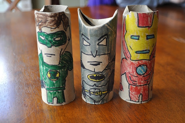 Super Hero Toilet Paper Rolls Summer Camp Activities