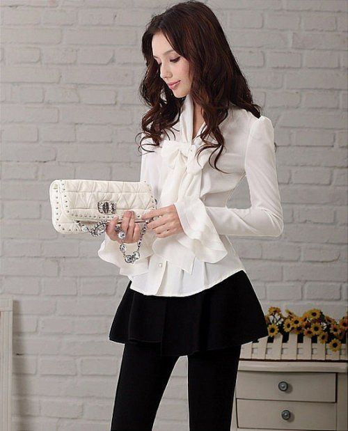 Chic graceful OL fashion  Shirts  Shirts from stylishplus.com