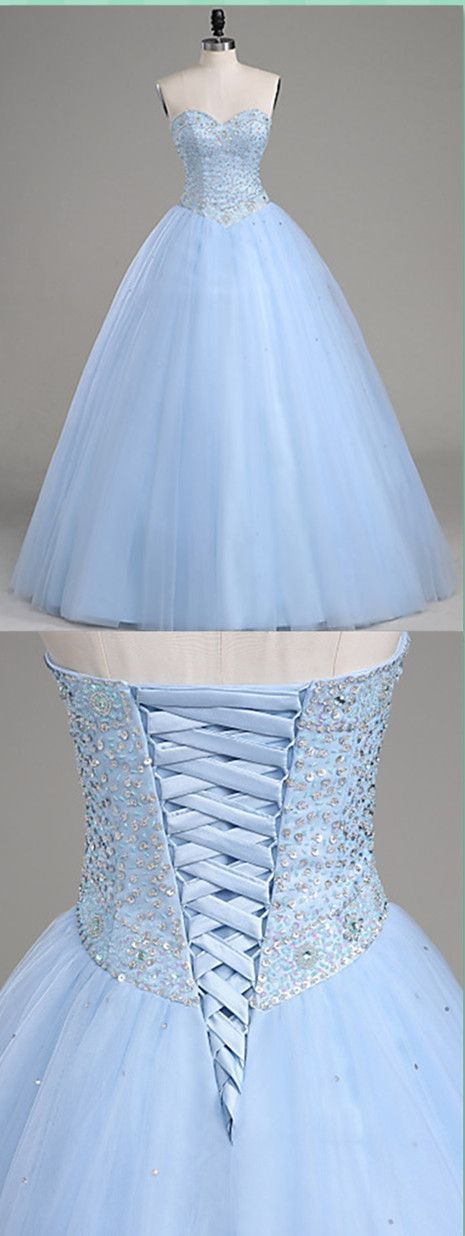 Modest Quinceanera Dress,Sweetheart Ball Gown,Bodice Prom Dress,Fashion Prom