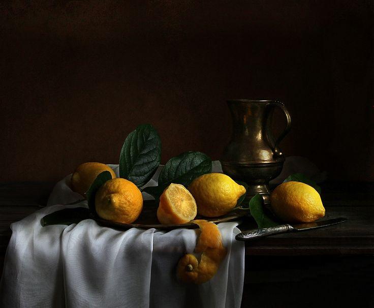 был картинки натюрморты с лимоном могут быть привычный
