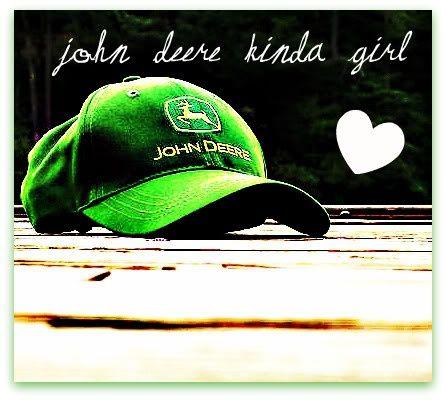 John Deere kinda girl - yes, I am! #johndeere