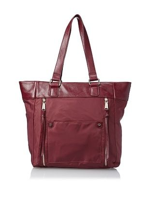 47% OFF co-lab by Christopher Kon Women's Dee Tote, Bordeaux