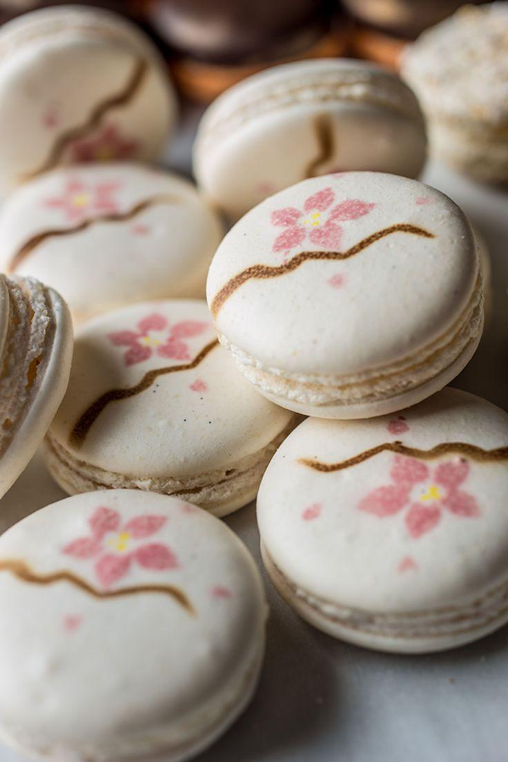 Cherry blossom macaron by Graham Hornigold