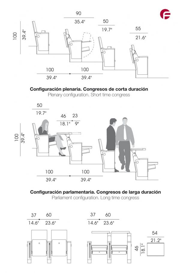 Cinema design dimensions c utare google pinterest for Chair design criteria