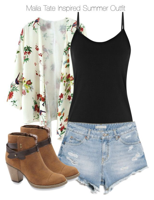Teen Wolf - Malia Tate Inspired Summer Outfit