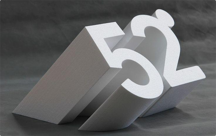 3D Cut Foam Lettering