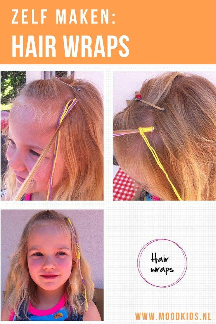 Je ziet ze elke zomer weer: hair wraps! Met deze stap-voor-stap uitleg van Hiskia maak je hair wraps makkelijk zelf bij je kind.