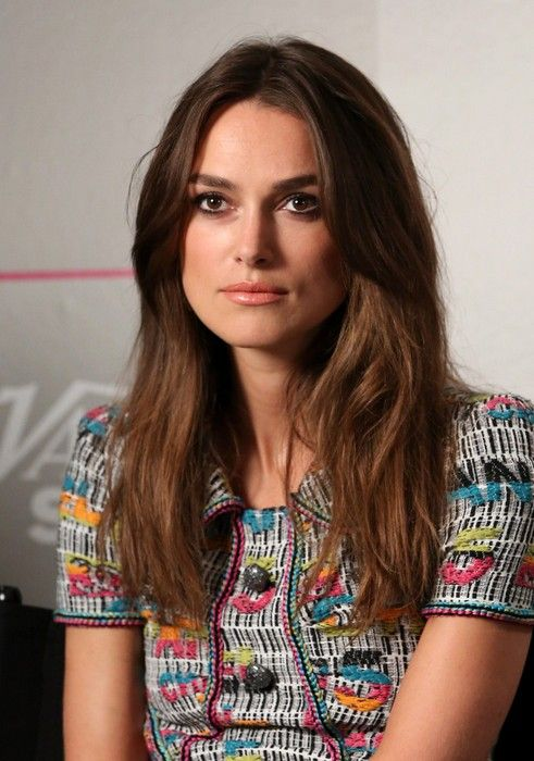 Keira+Knightley+Long+Hairstyle+for+Thick+Hair