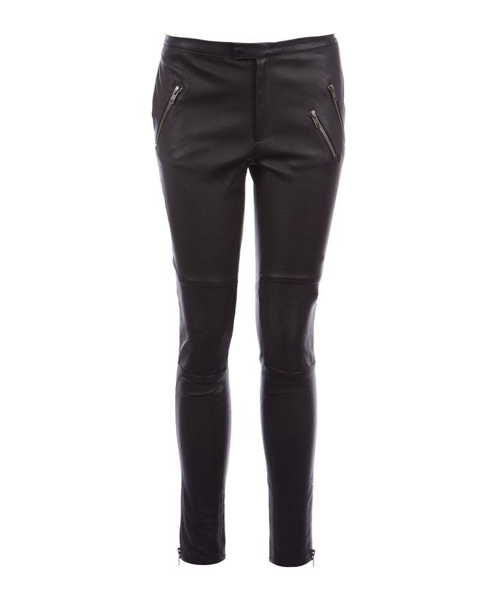 Rabens Saloner Dorita Stretch Leather Pants #clerkenwellldn #rabenssaloner