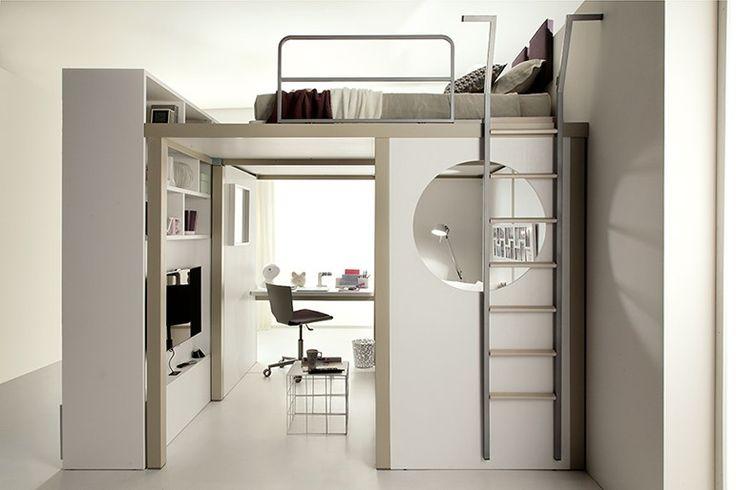 Schlafzimmer für Jugendliche TIRAMOLLA 173 by TUMIDEI Design Marelli e Molteni