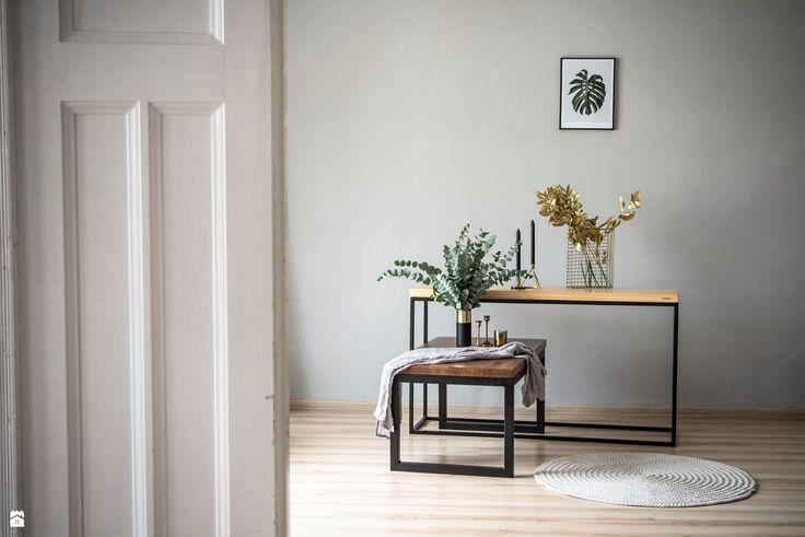 Minimalistyczny stolik kawowy SK3 - zdjęcie od smreki - Salon - Styl Minimalistyczny - smreki