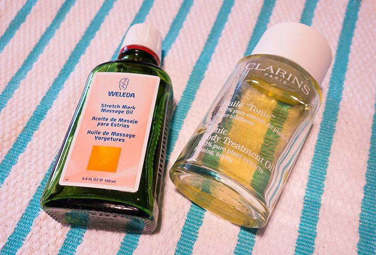 Dois óleos anti estrias que estou amando
