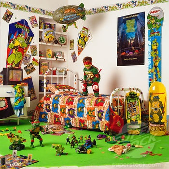 78 Best Ninja Turtle Bedroom For Christian Images On