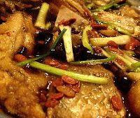Surinaams eten!: Gebakken vis in taotjo (sojabonen saus)