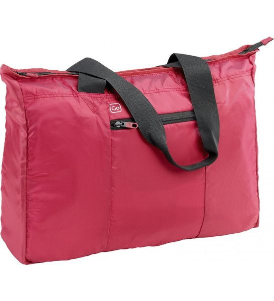 Go Travel Xtra Tote Bag: Strawberry Red