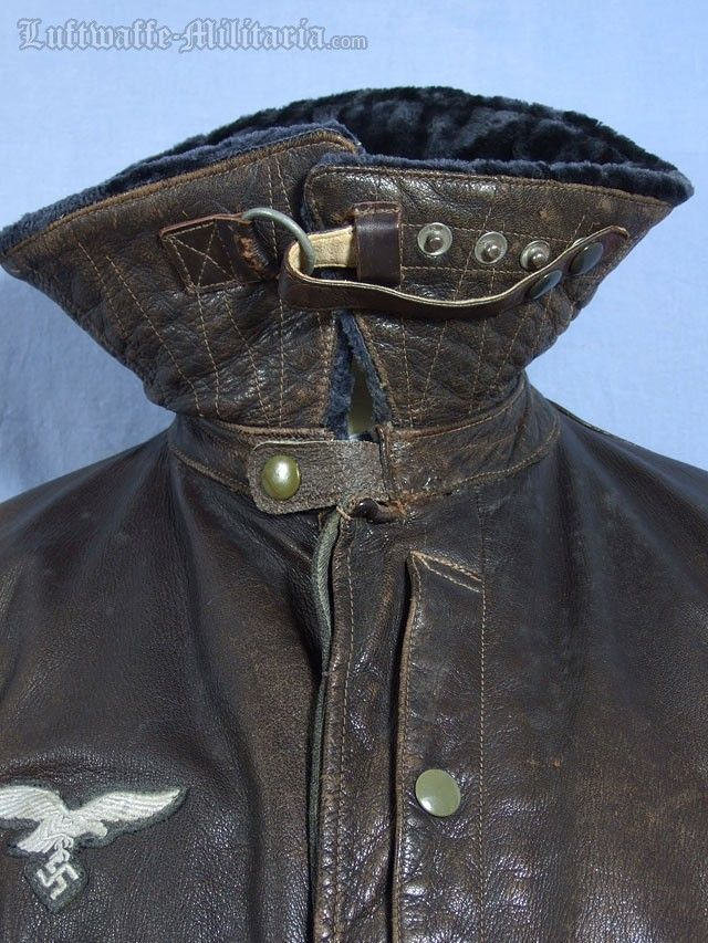 Pleasant Luftwaffe Issued Leather Flight Jacket This Is The Rare Unheated Wiring Digital Resources Operbouhousnl