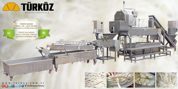 Türköz Machinery Local (Custom) Cheeses Boiling and Forming Machine / Türköz Makina Özel Peynirler (Örgü, Çeçil, Dil) Haşlama ve Formlama Hattı. #orgu #örgü #cecil #çeçil #dil #peyniri #haslama #haşlama #formlama #hattı #hatti #unitesi #ünitesi #local #custom #cheeses #boiling #boiler #forming #machine #turkey #manufacturer #türköz #machinery #turkoz #makina #türkoz www.turkoz.com.tr