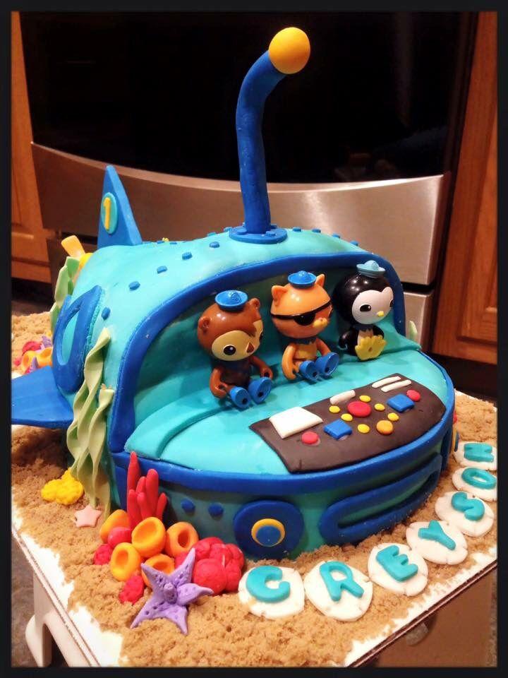 Greyson's Octonauts Cake