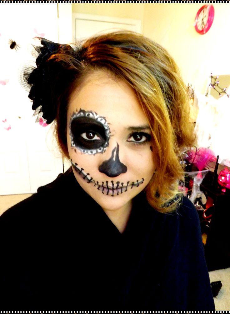 Maquillaje facil para Halloween