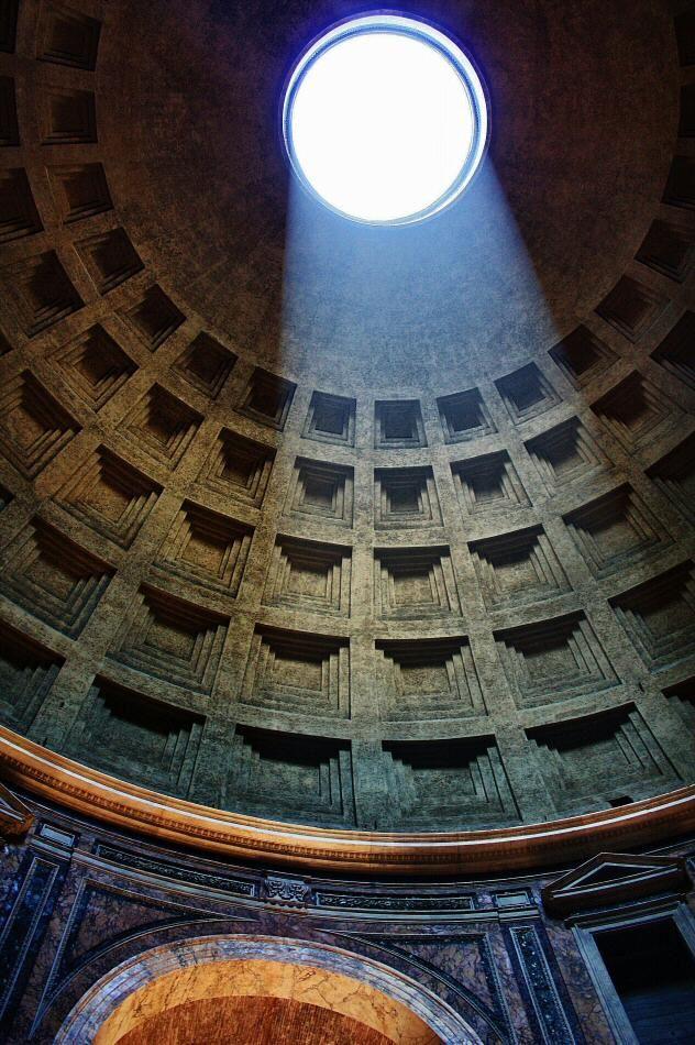 Cúpula del Panteón de Agripa en Roma