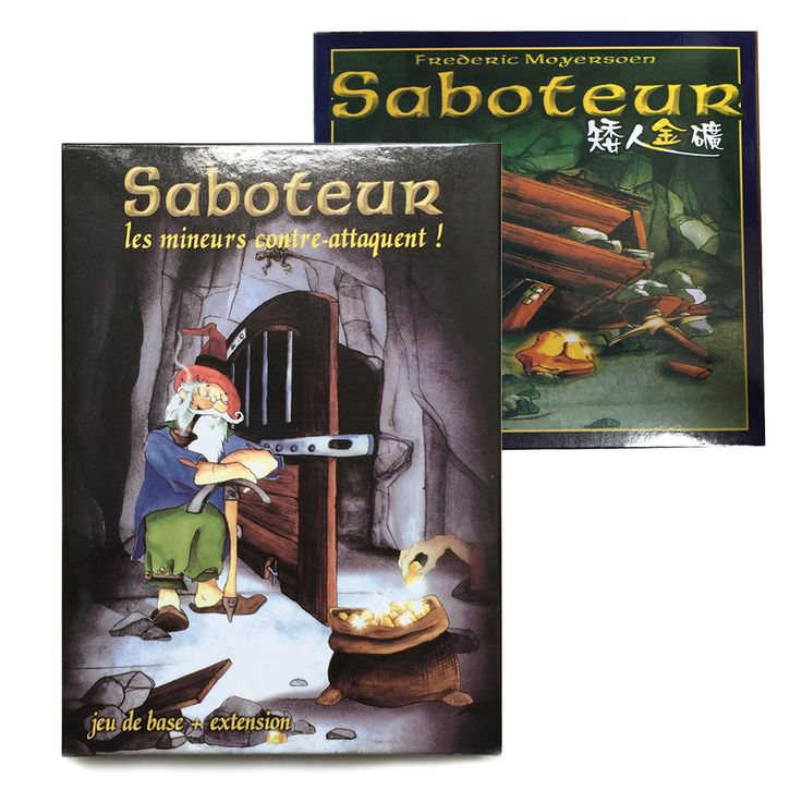 Saboteur 1 & Saboteur 1+2 Expansion // Price: $19.95 & FREE Shipping Worldwide //    #boardgame #cardgame #game #puzzle #maze