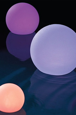 Light up your pool with these glow balls!
